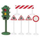 Lot de panneaux routiers
