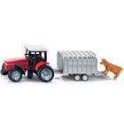 Tracteur Avec Remorque à Bétail
