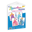Recharge aquarellum junior princesses