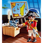 4293-Capitaine pirate avec carte