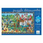 Puzzle observation 54 pièces chevaliers