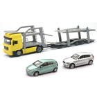 Camion Porte-Voitures + 2 Voitures 1/43 ème