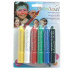 Set de 6 crayons de maquillage