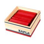 Kapla-40 planchettes rouges