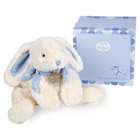 Coffret Lapin Bonbon Bleu 30 cm