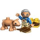 Le fermier et son cochon