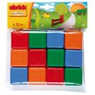 12 cubes plastique