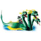 4805-Serpent de mer à trois têtes et pirate fantôme