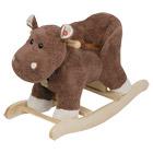 Hippopotame à bascule musical
