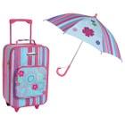 Valise et parapluie