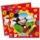 16 Serviettes Mickey