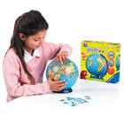Puzzle Ball Mappemonde
