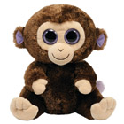 Beanie Boo's Peluche Coconut singe 23 cm