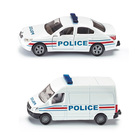 Voiture et fourgon police française SIKU