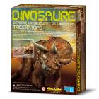 Dinosaure tricératops à déterrer