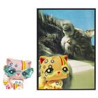 Petshop Chat Persan et Carte Postale