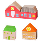 Set bâtiments ville bois