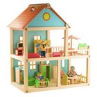 Maison bois meublée
