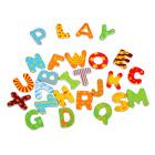 Alphabet en bois magnétique