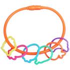 Bracelet + 6 Bagues Crazy Bands