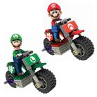 Maquette K' Nex Figurine Mario / Luigi  et sa moto