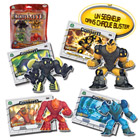 Gormiti TV3 - 4 figurines  + cartes