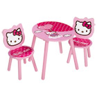 Table et 2 chaises Hello Kitty