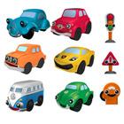 Coffret 6 véhicules et accessoires Motortown