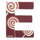Lettre décorative en bois -E