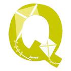 Lettre décorative en bois -Q