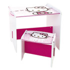 Bureau et Tabouret Hello Kitty
