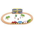 Train BABAR en bois - Circuit Célesteville