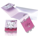 6 cartes d'invitation Charmmy Kitty