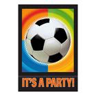 Cartes Invitation Football