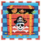 Serviettes Trésor Pirates