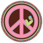 Assiettes Hippie Chick