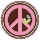 Assiettes Hippie Chick