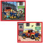 Puzzle 60 pièces Sam Le Pompier