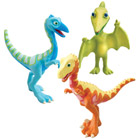 Dino Train Pack de 3 Dinosaures