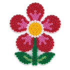Plaque pour perles à repasser fleur
