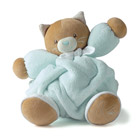 Doudou Plume chat medium aqua