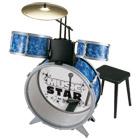 Batterie 3 tambours - tabouret