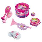 Coffret instruments de musique rose