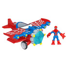 Avion et Figurine Spiderman