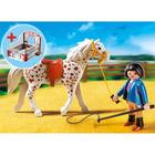 5107-Cheval et Monitrice - Playmobil