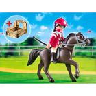5112-Pur-Sang Arabe et Jockey - Playmobil