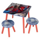 Table + chaises Spiderman