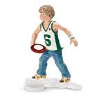 Garcon Jouant avec un Frisbee
