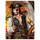 Peinture N° enfant Pirate