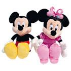 Peluche Mickey and Co 43cm - Assortiment